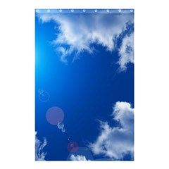 SUN SKY AND CLOUDS Shower Curtain 48  x 72  (Small)