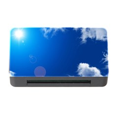 Sun Sky And Clouds Memory Card Reader With Cf