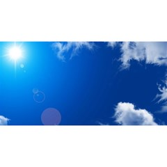 SUN SKY AND CLOUDS YOU ARE INVITED 3D Greeting Card (8x4)
