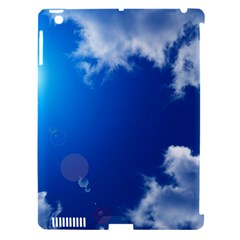 SUN SKY AND CLOUDS Apple iPad 3/4 Hardshell Case (Compatible with Smart Cover)