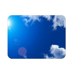 SUN SKY AND CLOUDS Double Sided Flano Blanket (Mini)