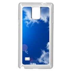 Sun Sky And Clouds Samsung Galaxy Note 4 Case (white)