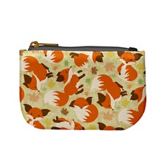 Curious Maple Fox Coin Change Purse