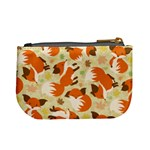 Curious Maple Fox Coin Change Purse Back