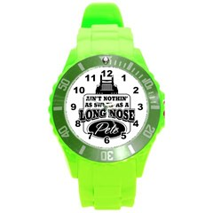 Pete Round Plastic Sport Watch (L)