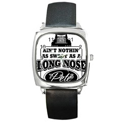 Pete Square Metal Watches