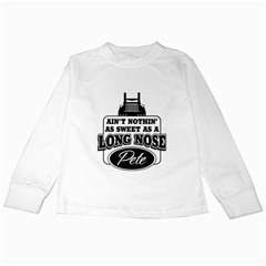 Pete Kids Long Sleeve T-Shirts
