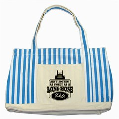 Pete Striped Blue Tote Bag