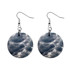 STORM CLOUDS 2 Mini Button Earrings