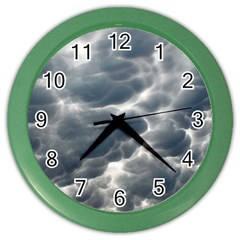 STORM CLOUDS 2 Color Wall Clocks