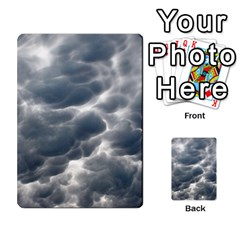 Storm Clouds 2 Multi Purpose Cards (rectangle)