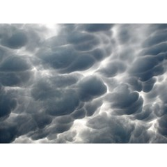 STORM CLOUDS 2 Birthday Cake 3D Greeting Card (7x5)