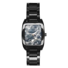 STORM CLOUDS 2 Stainless Steel Barrel Watch