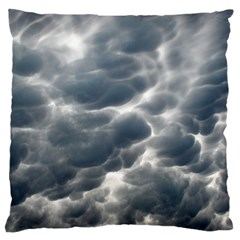 Storm Clouds 2 Large Flano Cushion Cases (two Sides)