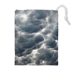 Storm Clouds 2 Drawstring Pouches (extra Large)