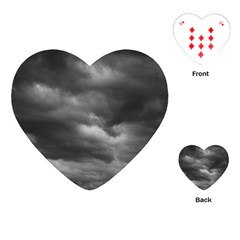 Storm Clouds 1 Playing Cards (heart)