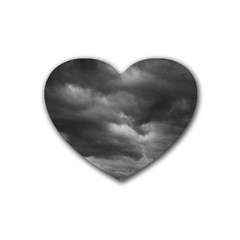 STORM CLOUDS 1 Heart Coaster (4 pack)