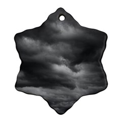 Storm Clouds 1 Snowflake Ornament (2 Side)
