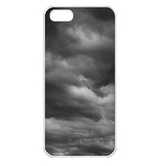 STORM CLOUDS 1 Apple iPhone 5 Seamless Case (White)