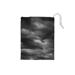 STORM CLOUDS 1 Drawstring Pouches (Small)