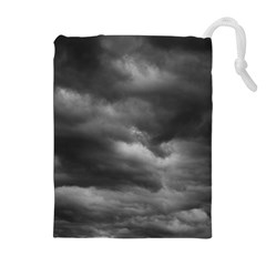 Storm Clouds 1 Drawstring Pouches (extra Large)