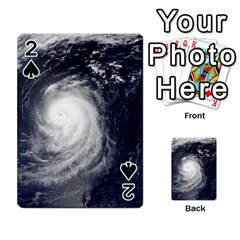 HURRICANE IRENE Playing Cards 54 Designs