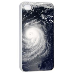 HURRICANE IRENE Apple iPhone 4/4s Seamless Case (White)