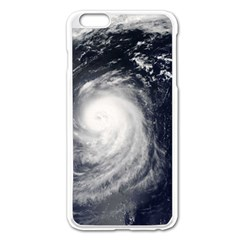 HURRICANE IRENE Apple iPhone 6 Plus/6S Plus Enamel White Case