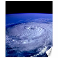 HURRICANE ELENA Canvas 8  x 10