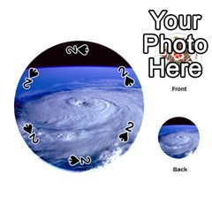 HURRICANE ELENA Playing Cards 54 (Round)