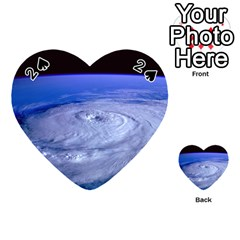 Hurricane Elena Playing Cards 54 (heart)