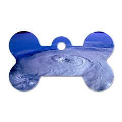 HURRICANE ELENA Dog Tag Bone (Two Sides)