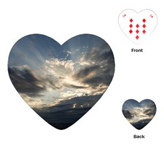 Heaven Rays Playing Cards (heart)
