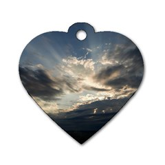 HEAVEN RAYS Dog Tag Heart (Two Sides)