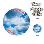CUMULUS CLOUDS Playing Cards 54 (Round)  Front - Joker2