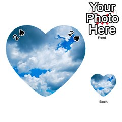 CUMULUS CLOUDS Playing Cards 54 (Heart)