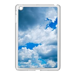 CUMULUS CLOUDS Apple iPad Mini Case (White)