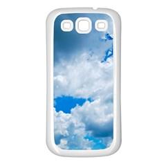 CUMULUS CLOUDS Samsung Galaxy S3 Back Case (White)