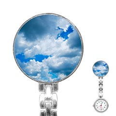 CUMULUS CLOUDS Stainless Steel Nurses Watches