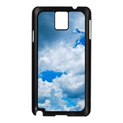 CUMULUS CLOUDS Samsung Galaxy Note 3 N9005 Case (Black)