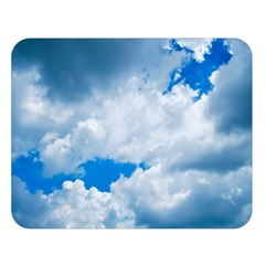 Cumulus Clouds Double Sided Flano Blanket (large)