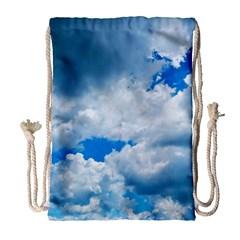 CUMULUS CLOUDS Drawstring Bag (Large)