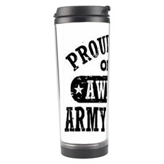 Proud Army Soldier Sister Travel Tumblers