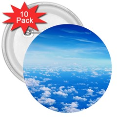 CLOUDS 3  Buttons (10 pack)
