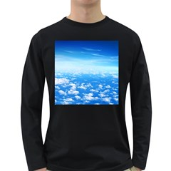 CLOUDS Long Sleeve Dark T-Shirts