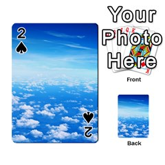 CLOUDS Playing Cards 54 Designs