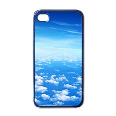 CLOUDS Apple iPhone 4 Case (Black)