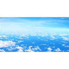 Clouds You Are Invited 3d Greeting Card (8x4)