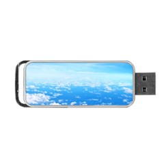 CLOUDS Portable USB Flash (One Side)