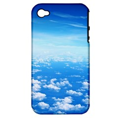 CLOUDS Apple iPhone 4/4S Hardshell Case (PC+Silicone)